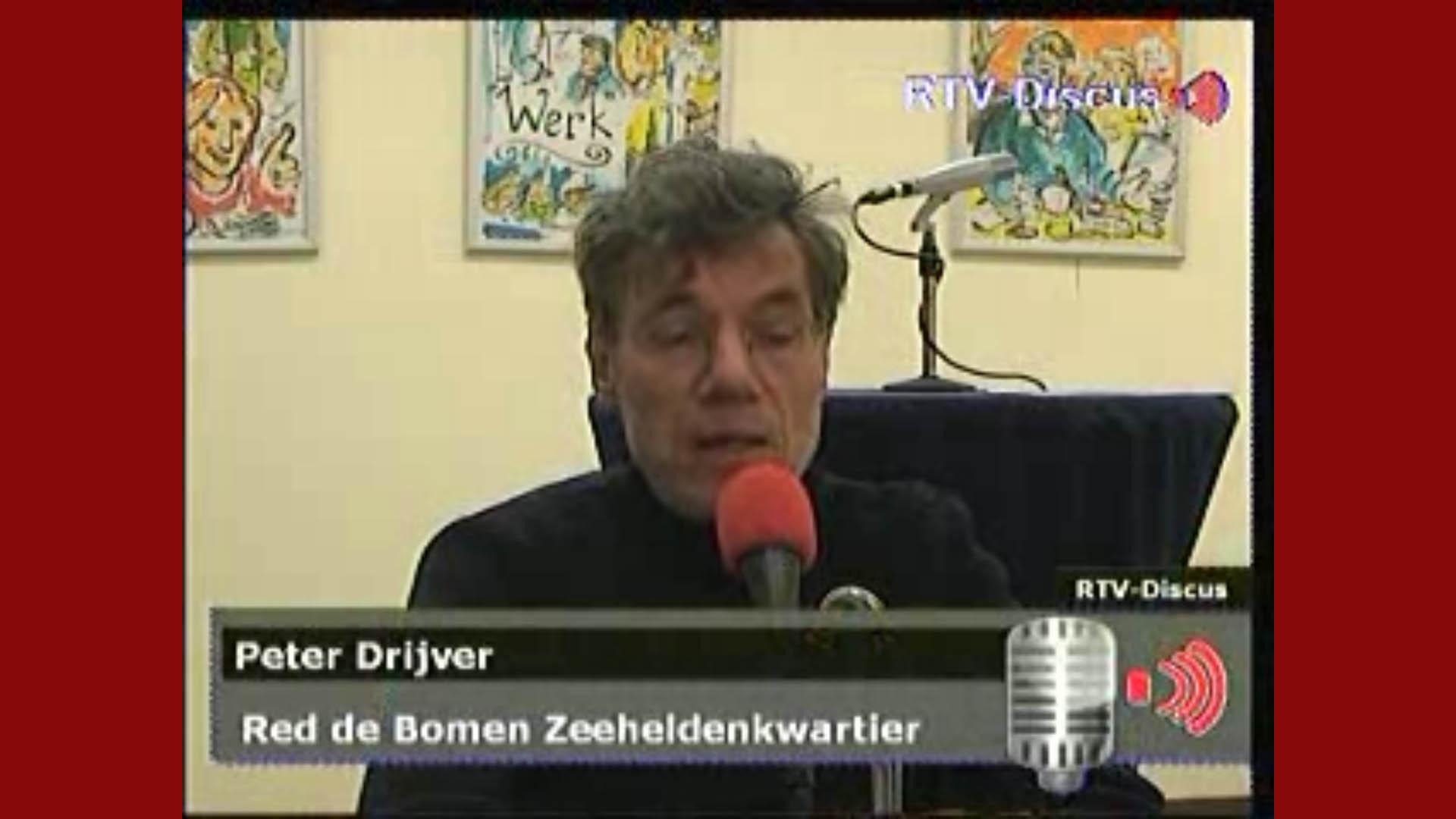 Peter Drijfer bij RTV-Discus